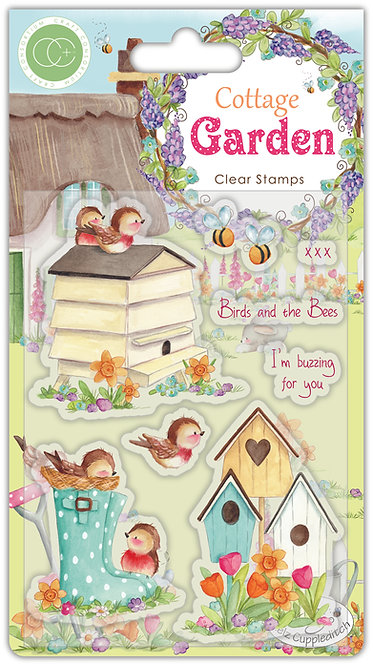 Cottage Garden - Stamp set - Birds and the Bees