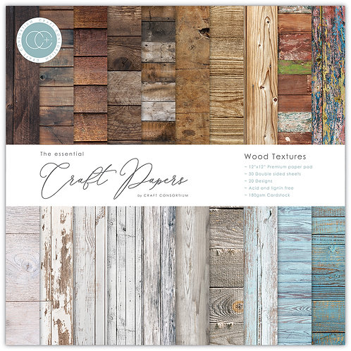 The Essential Craft Papers - Wood Textures