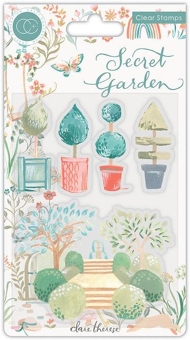 Secret Garden - Topiary - Stamp Set