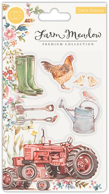 Farm Meadow - Stamp Set - Farm Meadow