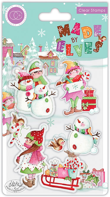 Made by Elves - Candy - Stamp Set