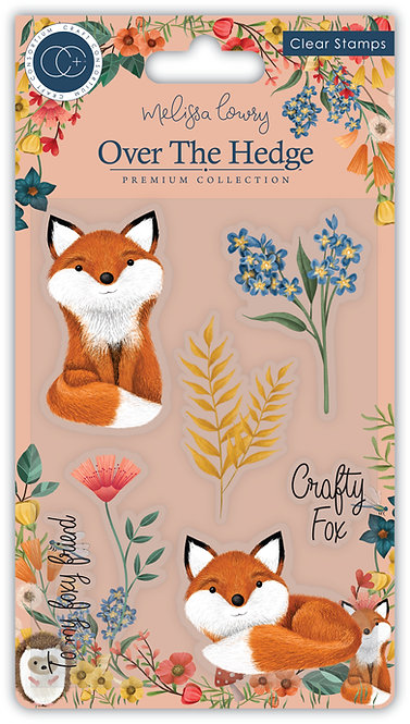 Over the Hedge - Stamp Set - Henry the Fox