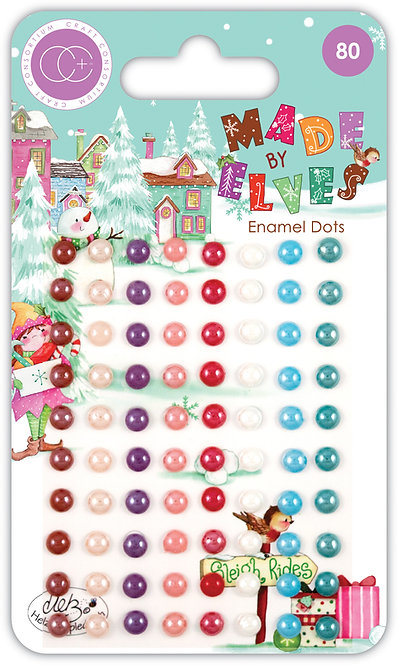 Made by Elves - Adhesive Enamel Dots