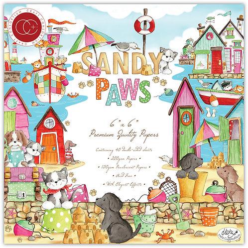 "Sandy Paws - 6""x6"" Premium Paper Pad"