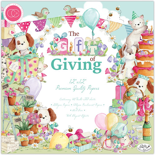 The Gift of Giving Premium Paper Pad