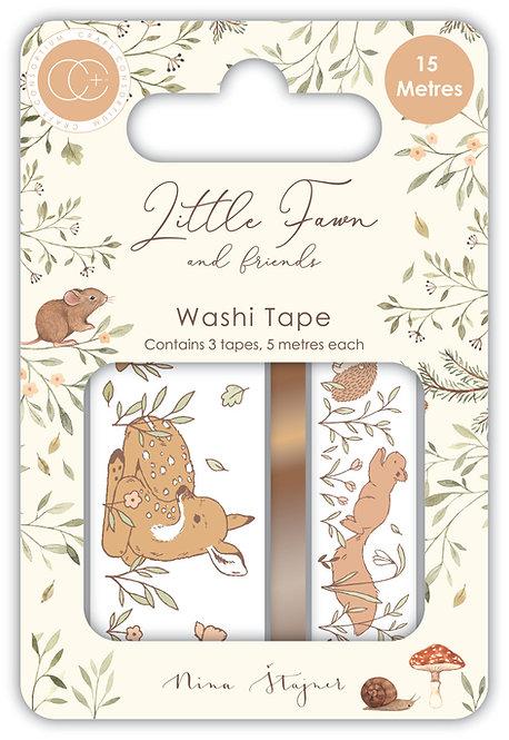 Little Fawn & Friends - Washi Tape set
