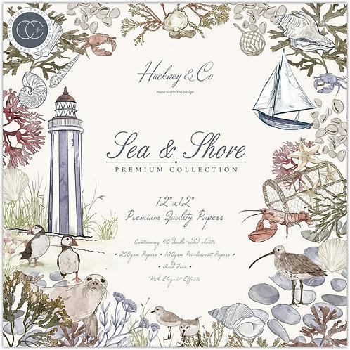 Sea & Shore  - Premium Paper Pad