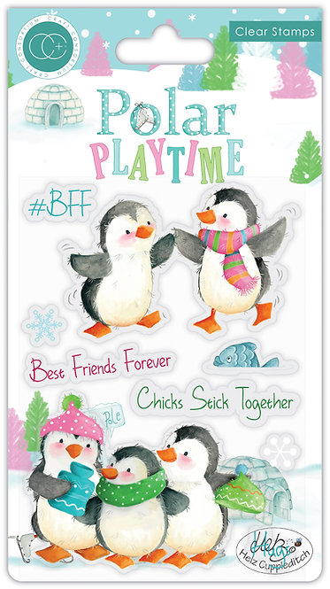 Polar Playtime - BFF - Stamp Set