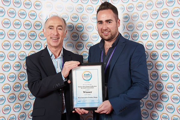 Craft Consortium receiving Craft Business Award