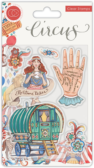 Circus - Stamp Set - Fortune Teller
