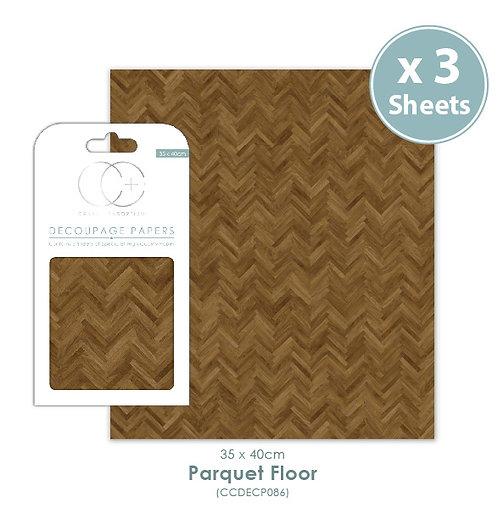 Parquet Floor - Decoupage Papers Set