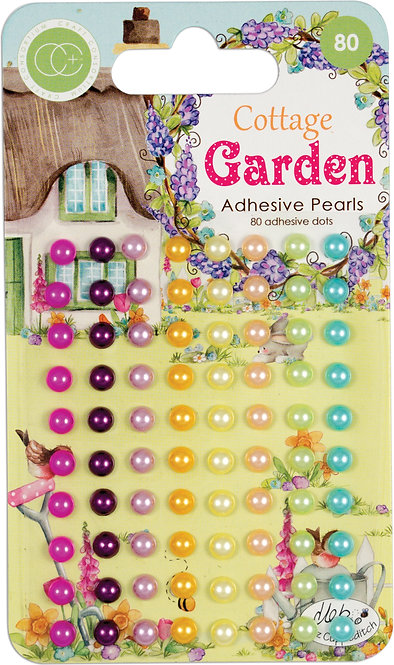 Cottage Garden - Adhesive Pearls