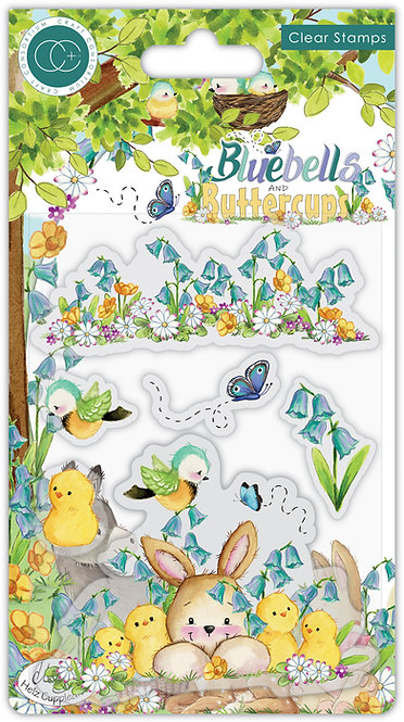 Bluebells and Buttercups - Chicks - Stamp Set