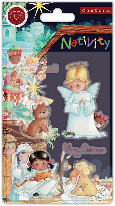 Nativity - Stamp Set - Angels