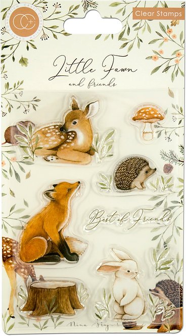Little Fawn & Friends - Stamp Set - Best Friends