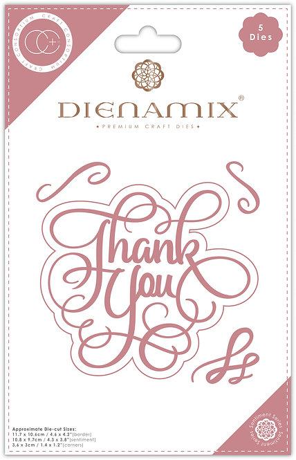 Dienamix - Thank you - Cutting Die