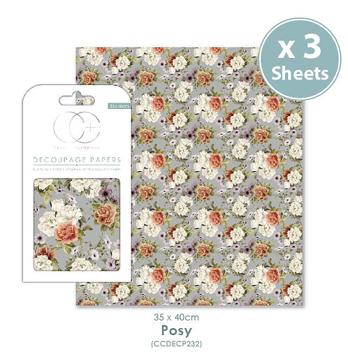 Posy - Decoupage Papers Set
