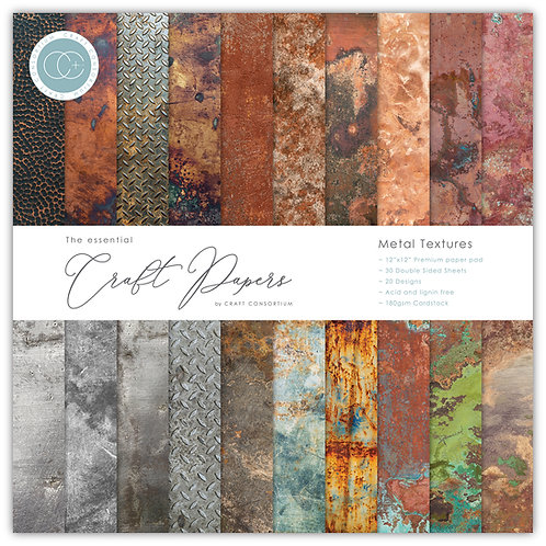 The Essential Craft Papers - Metal Textures