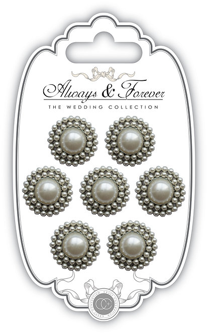 Always & Forever - Vintage Pearl Charms