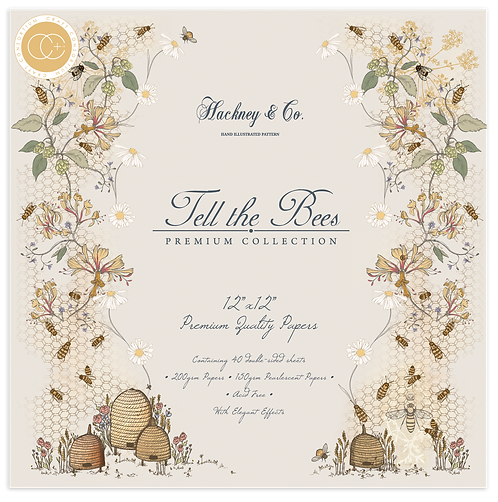 Tell the Bees Premium Paper Pad