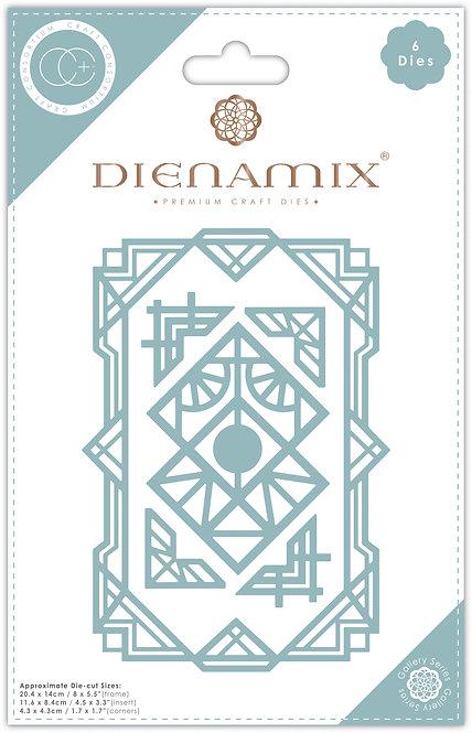 Dienamix - A5 Deco Frame - Cutting Die