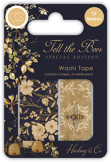 Tell the Bees - Special Edition - Premium Washi Tape