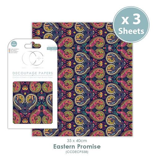 Eastern Promise - Decoupage Paper Set