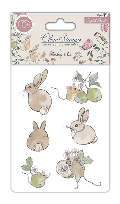 English Garden - Clear Stamp Set