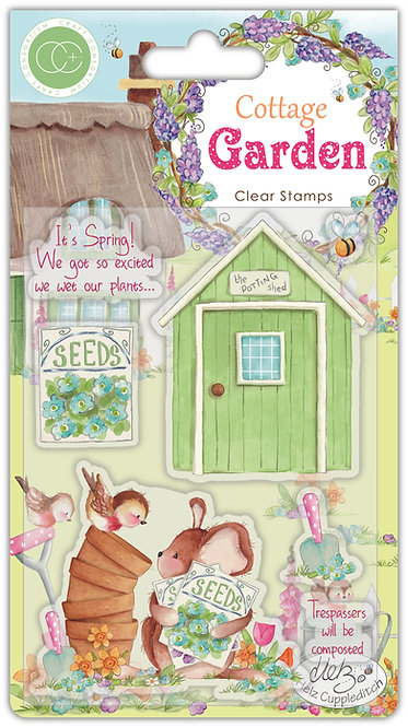 Cottage Garden - Stamp set - The Potting Shed