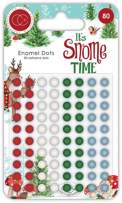It's Snome Time - Adhesive Enamel Dots