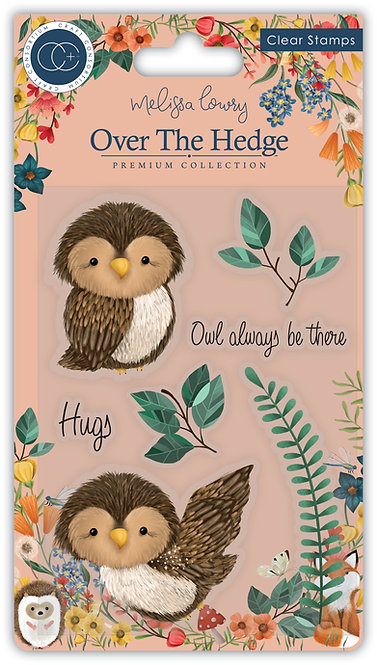 Over the Hedge - Stamp Set - Olivia the Owl
