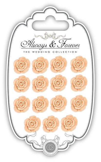 Always & Forever - Resin Flowers - Peach