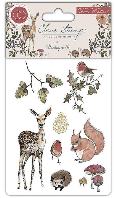 Winter Woodland - Clear Stamp Set