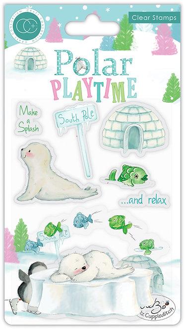 Polar Playtime - Make a Splash - Stamp Set