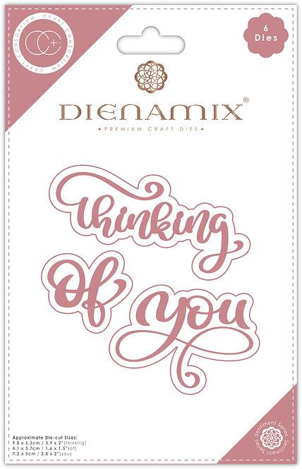 Dienamix - Thinking of you - Cutting Die