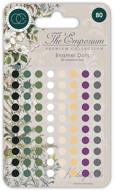 The Emporium - Adhesive Enamel Dots