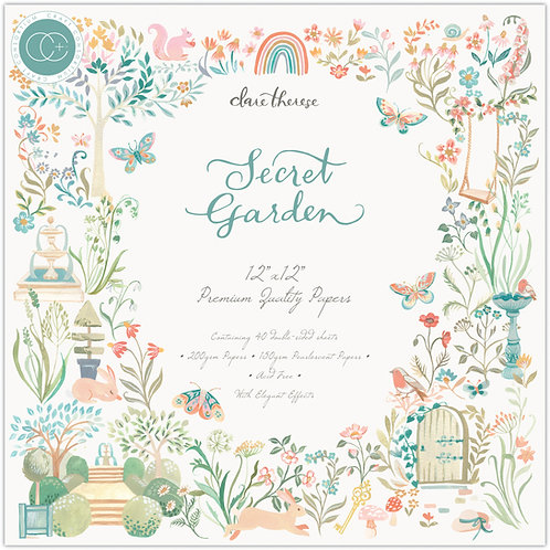 Secret Garden - Premium Paper Pad