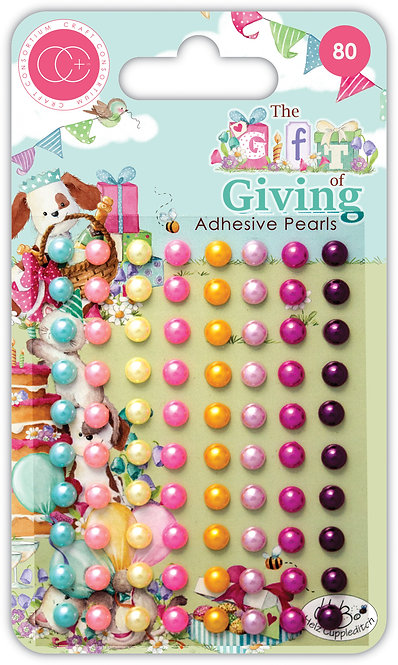 The Gift of Giving - Adhesive Pearls