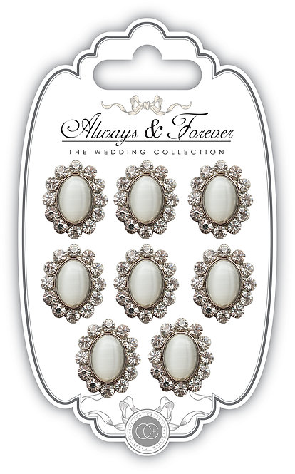 Always & Forever - Vintage Diamante Charms