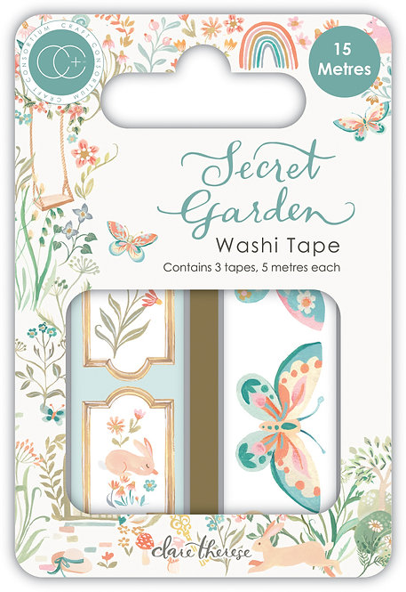 Secret Garden - Premium Washi Tape