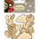 Thumbnail: Santoro - Kori Kumi laser cut characters