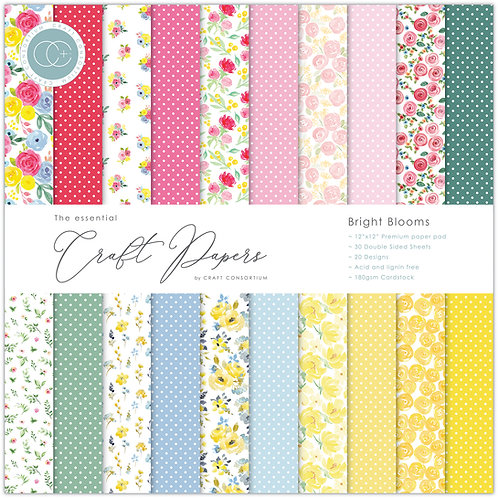 The Essential Craft Papers  - Bright Blooms