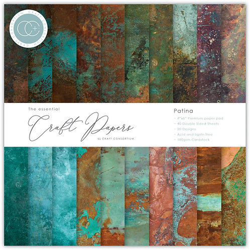 The Essential Craft Papers - 6x6 - Patina