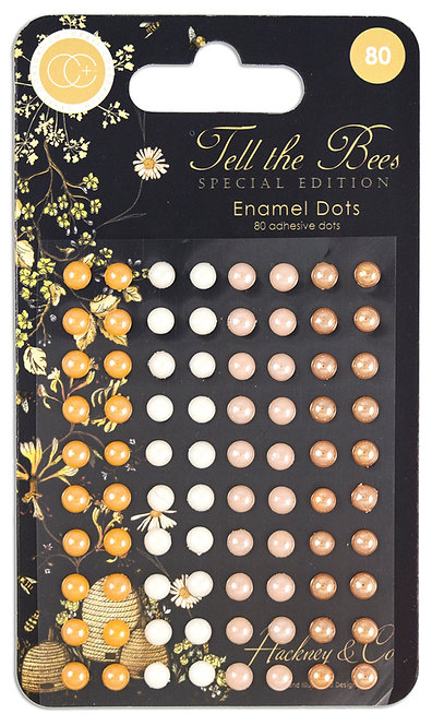 Tell the Bees - Special Edition - Adhesive Enamel Dots