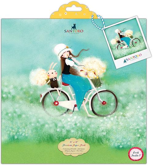 """Santoro - Kori Kumi 12""""x12"""" Premium Paper Pack"""