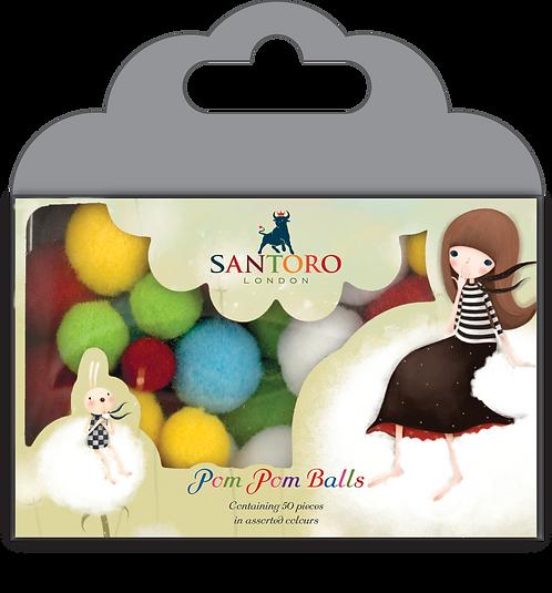 Santoro - Kori Kumi Pom Pom Balls