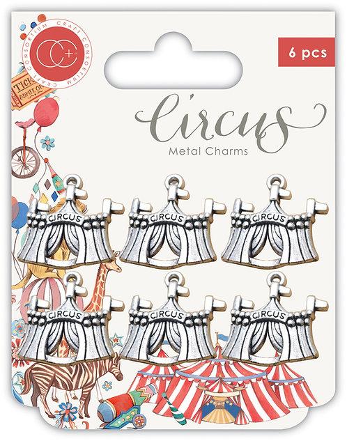 Circus - Metal Charms - Big Top