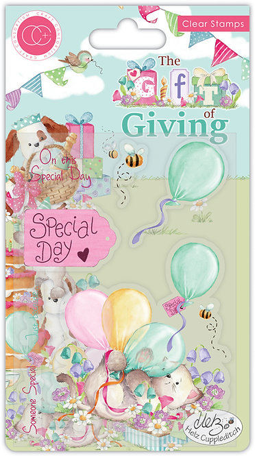 The Gift of Giving - Special Day - Clear Stamp Set