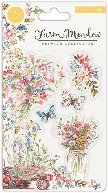 Farm Meadow - Stamp Set - Florals