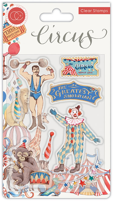 Circus - Stamp Set - Greatest Show